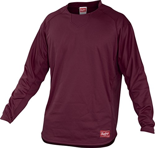 rawlings-adult-dugout-fleece-pullover-medium-maroon