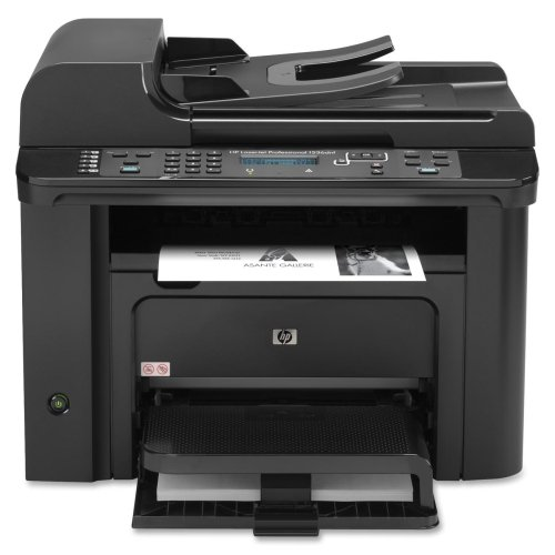 (HP LaserJet Pro M1530 M1536DNF Laser Multifunction Printer - Monochrome - Plain Paper Print - Desktop - Copier/Fax/Printer/Scanner - 26 ppm Mono Print - 15 cpm Mono Copy LCD - 1200 dpi Optical Scan - Automatic Duplex Print - 250 sheets Input - Fast Ethernet - USB)