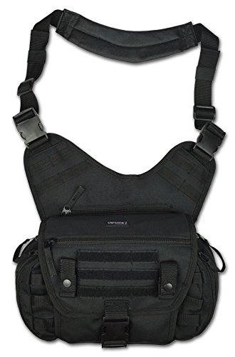 Lightning X MedSling Tactical Messenger-Style Shoulder Sling Pack Push Gear Bag ()
