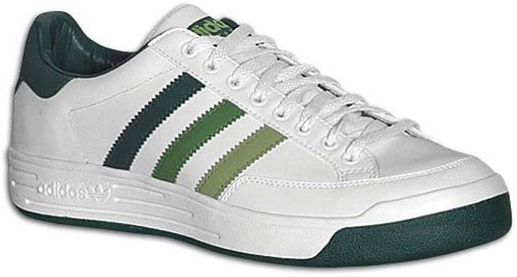 parásito evidencia Roux  Amazon.com | adidas Men's Nastase Lo (sz. 11.5, White/Green) | Tennis &  Racquet Sports