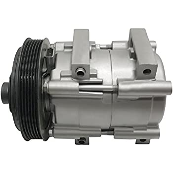 RYC Remanufactured AC Compressor and A/C Clutch EG162