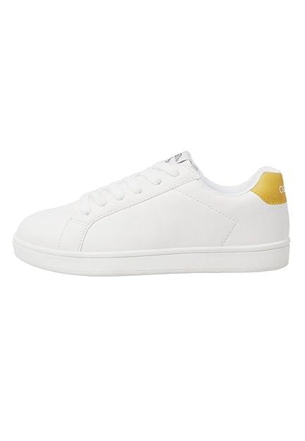 MANGO KIDS - Zapatillas de Deporte Niñas, blanco (blanco), 31 EU: Amazon.es: Zapatos y complementos