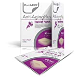 PatchMD - Anti-Aging Topical Patches - Includes Natural Anti-Aging antioxidants Like Resveratrol, CoQ10, Curcumin, Vitamin C - 30 Day Supply