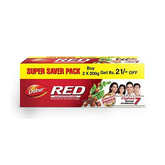 Dabur Red Paste - 200 g (Pack of 2)