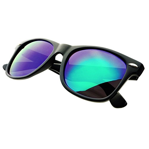 MLC Elements of Gaia Collection Unisex UV400 Horn Rimmed Frame Sunglasses (Carbone - Elements Sunglasses Carbon
