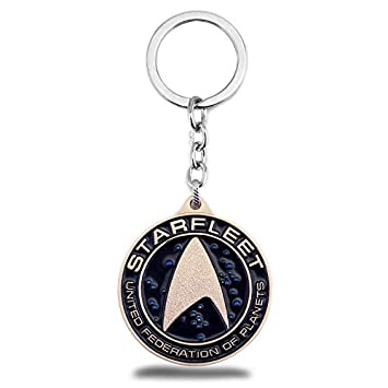 TUDUDU Star Trek Llavero Federación Planetas Logo Cosplay ...
