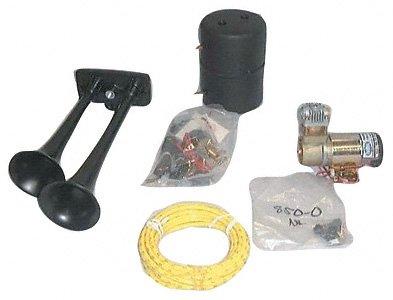 Hadley Horns H00964H Blck Underhood Horn Kit (Parts Horn Hadley Air)