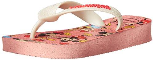 Havaianas Disney Stylish Sandal Flip Flops (Toddler/Little Kid), Light Pink, 25-26 BR(10 M US Toddler)