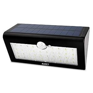 Aukey Éclairage Extérieure Lampe Solaire 38 LED Sans Fil Détecteurs ...