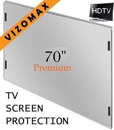 LED 27-28 inch Anti-blue Light Vizomax Monitor//TV Screen Protector for LCD Computer /& Plasma HDTV