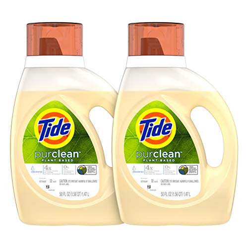 2-Pack Tide Purclean Plant-based Laundry Detergent 64 Loads from $13.19