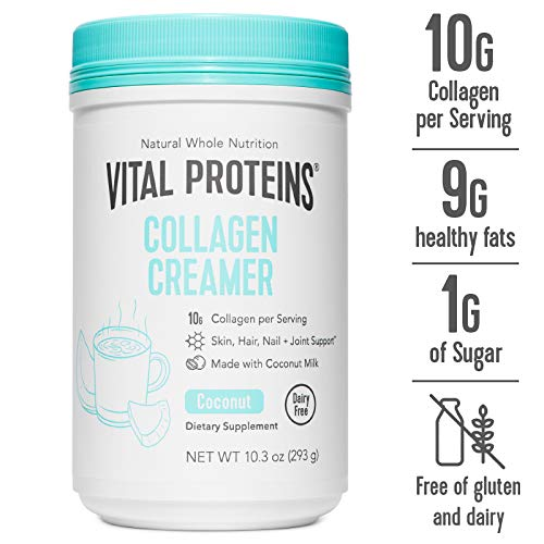 VITAL PROTEINS Collagen Creamer Coconut, 10.2 Ounce by Vital Proteins