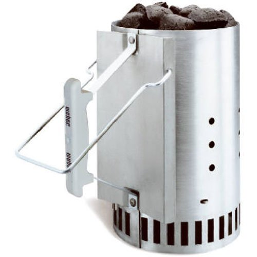 Rapidfire Chimney Starter For These Camping Dutch Oven BBQ Ribs That Can Be Cooked With Charcoal Briquettes Or Over A Campfire