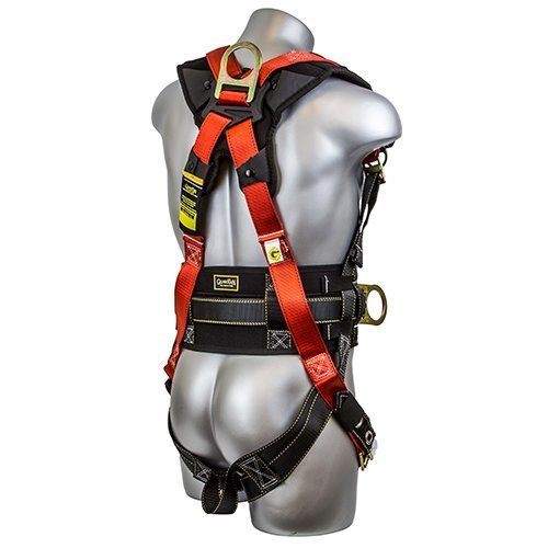 Guardian Fall Protection 11173 M-L Seraph Construction Harness with Side D-Rings (Renewed)