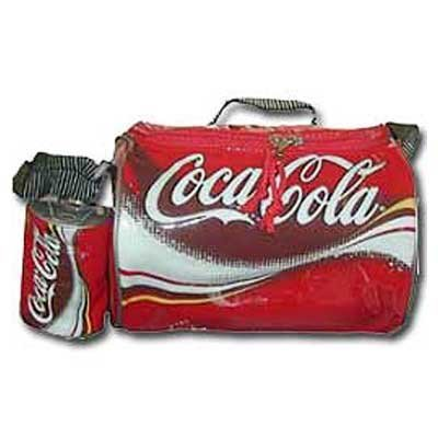 Coca-Cola Can Insulated Lunchbox Cooler with Coin Case