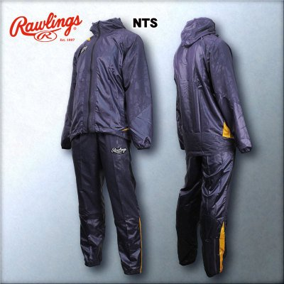 ローリングス Rawlings ウィンドブレーカー上下セット 品番:上:AOS5F04下:AOP5F04 B01AFURHTG O|NTS NTS O