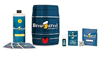 Brewbarrel Home Beer Brewing Starter Kit, India Pale Ale