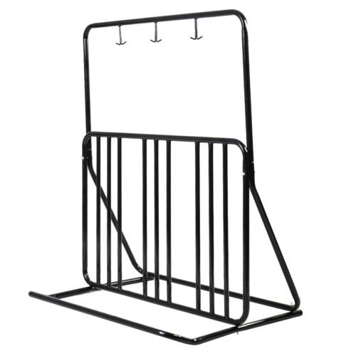Giantex Bicycle Parking Storage Rack 1-6 Bikes Steel Park Stand 2/3/4/5 Black by Giantex
