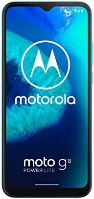 Motorola Moto G8 Power Lite XT2055-2 64GB GSM Unlocked Android Smart Phone - Arctic Blue WeeklyReviewer