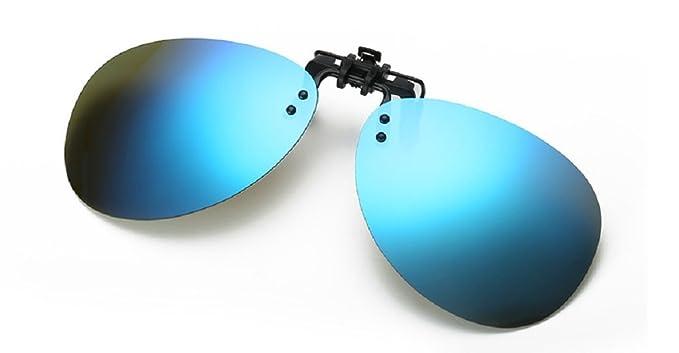 Embryform Polarisé Clip-on Flip up Lunettes de soleil en plastique Lunettes de vue Outdoor Driving Pêche Cyclisme w0F8sVYT