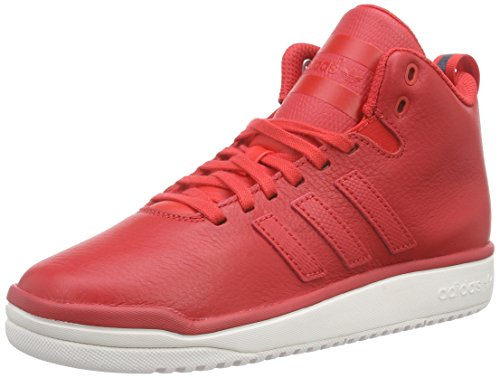 Rot Lea Veritas F15 Basketball Chaussures F15 Adidas st chalk Adulte Mixte tomato White Rouge tomato De st w8gq55H