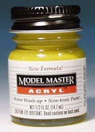 Yellow Zinc Chromate Testors Acrylic Plastic Model Paint
