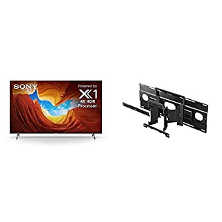 Sony X900H 65 Inch TV: 4K Ultra HD Smart LED TV with HDR and Alexa Compatibility - 2020 Model with SU-WL855 Ultra Slim Wall-Mount Bracket