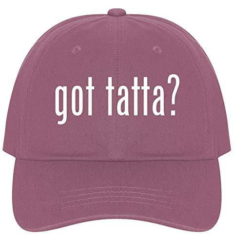 (The Town Butler got Tatta? - A Nice Comfortable Adjustable Dad Hat Cap, Pink)
