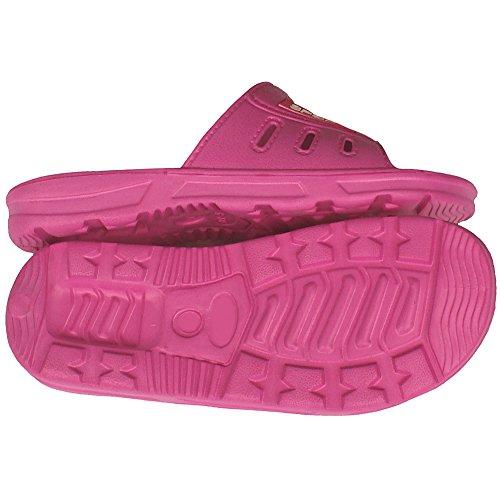 1 Paar Damen Badelatschen, Freizeitlatschen, Badepantoletten Größe: 38, pink, pi-38