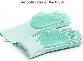 2 guantes de silicona mágicos, guantes de silicona para ...