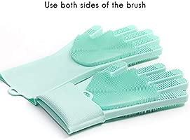 2 guantes de silicona mágicos, guantes de silicona para lavavajillas, utensilios de cocina, cepillo de limpieza, resistente al calor, limpieza, hogar, ...