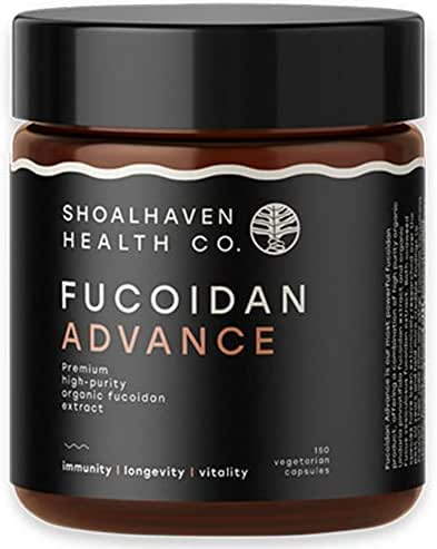 Fucoidan Advance - 150 Capsules Pure Brown Seaweed Extract from Organic Maritech Fucoidan | Build Immunity | Fight viruses | Reduce Inflammation