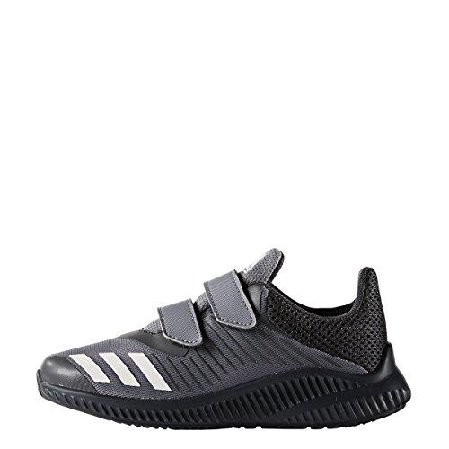 Adidas fortarun CF K–Chaussures de deportepara enfants, gris–(Gris/Ftwbla/griosc), 6