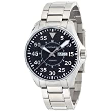 Hamilton Men's Khaki PilotStainless Steel Bracelet Watch #H64611135
