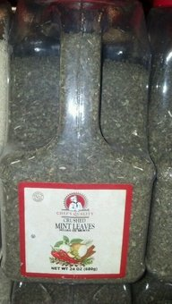Chef's Quality: Crushed Mint Leaves 4/24 Oz. Case