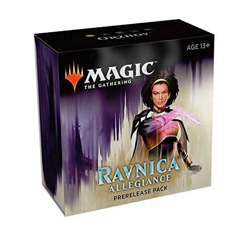 (Magic The Gathering: Ravnica Allegiance Prerelease Pack Orzhov (Pre-Pelease Promo + 6 Boosters + d20 Spindown Counter) Kit)