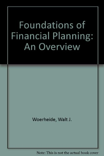 Foundations of Financial Planning: An Overview