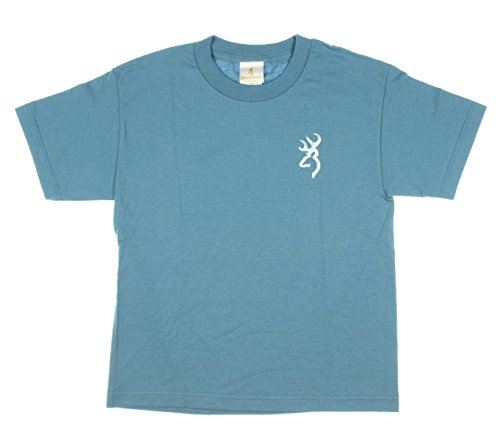 Browning Youth Short Sleeve Side Skull Tee (L)