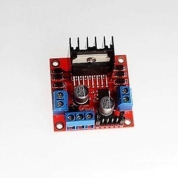 ULIAN Módulos/Sensores de Arduimo accessonries Nuevo Módulo de Controlador de Motor Original L298N/