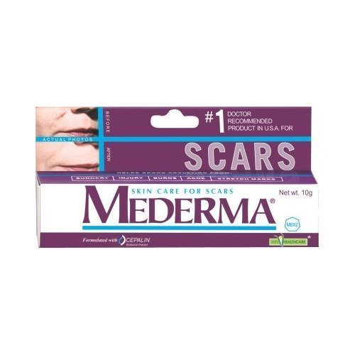 Mederma Skin Care for Scars 10gm (Helps Scars -Surgery, Injury, Burns, Acne,stretch Marks) - Pamherbals®