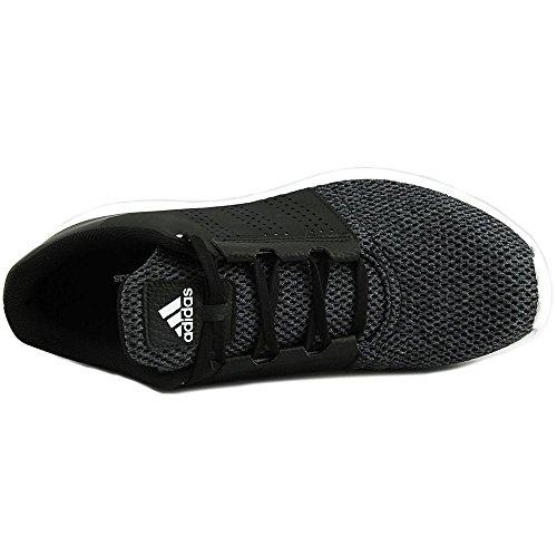 Adidas Mens Madoru 2 Enkel Hoge Hardloopschoen Zwart, Wit En Dale Leisteen