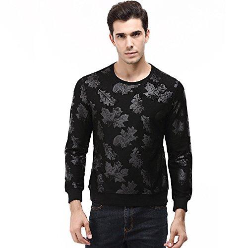 Lisux langärmelige t - Shirt - t - Shirt, Hemd, t - Shirt - Pullover größe,schwarz,m
