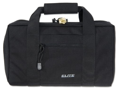 Elite Survival Deluxe Pistol Case, Black by Elite Survival
