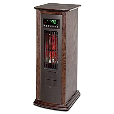 Lifesmart DLX Infrared Oscillating Tower Heater