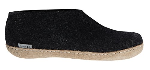 Glerups Shoe Slipper Charcoal, 37.0 ()