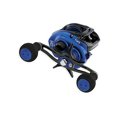 Daiwa CLTW200HS Coastal TWS Reel, 7.3: 1 Gear Ratio, 7CRBB, 1RB, 15.40 lb Max Drag, Right Hand
