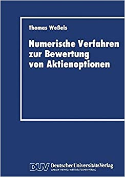 Book Numerische Verfahren zur Bewertung von Aktienoptionen