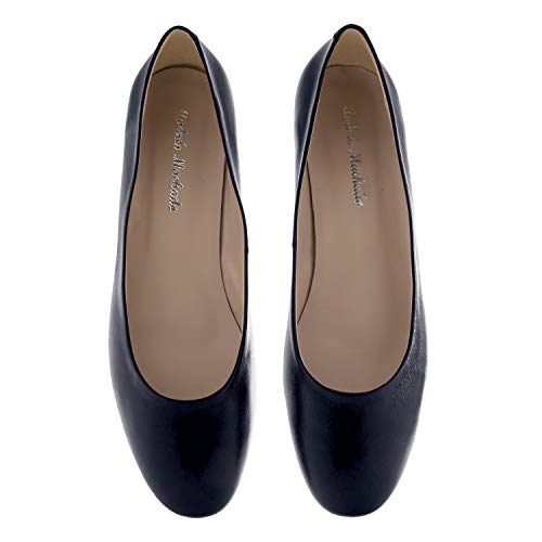Bleu Talons Marine Machado Spain Et Petites ballerines Nappa 35 32 Andres laura Made Pointures In Femmes 42 Grande 45 Pour wgHfqtUx