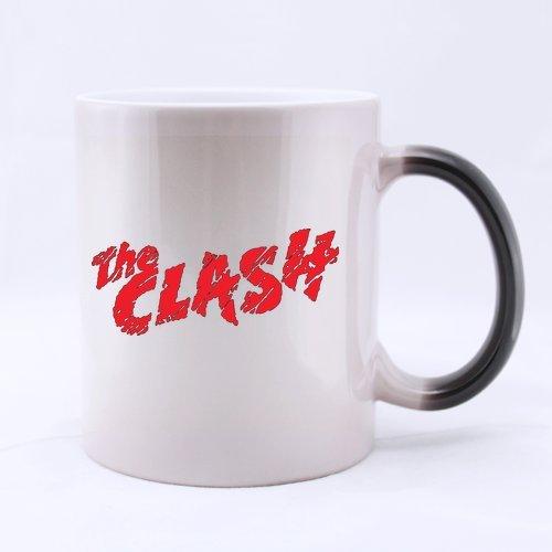 The Clash Fonts Customized Design Morphing Mug Coffee Mug Creative Milk Mug Personalized Tea Cup 11OZ