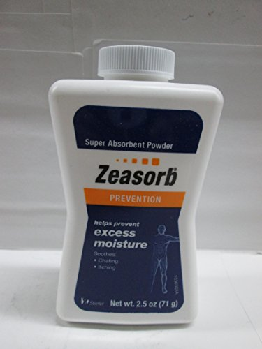 Zeasorb super absorbent powder Pack